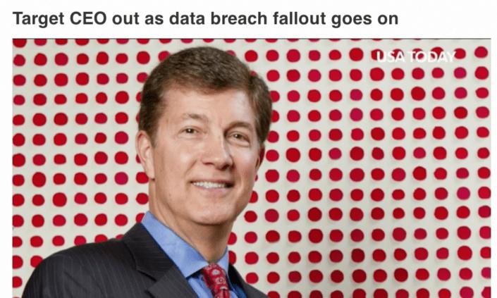 Target CEO Resignation - Steinhafel