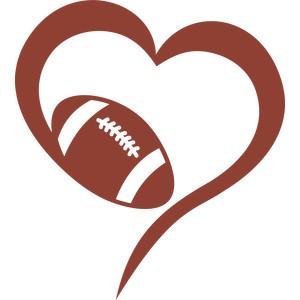 Download Silhouette Design Store - View Design #212342: love football