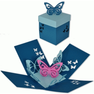 Silhouette Design Store View Design 88953 Butterfly