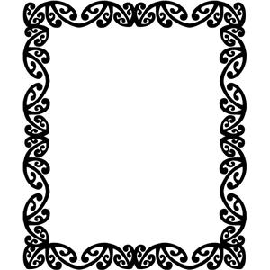 Silhouette Design Store View Design 18414 Maori Frame