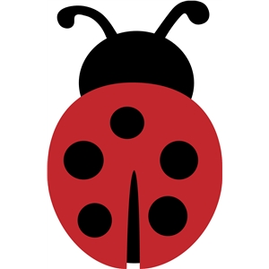 Download Silhouette Design Store - View Design #11924: ladybug