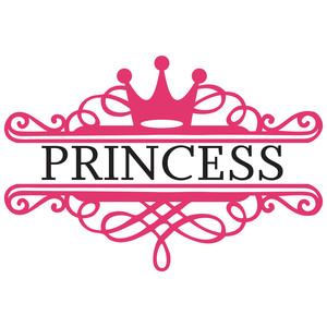Silhouette Design Store View Design 125984 Princess
