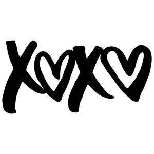 Download Silhouette Design Store - View Design #118205: xoxo