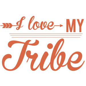 Download Silhouette Design Store - View Design #161305: i love my tribe