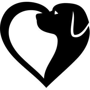 Download Silhouette Design Store - View Design #169705: dog heart