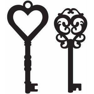 Silhouette Design Store View Design 36996 Antique Keys