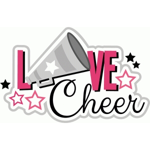 Download Silhouette Design Store - View Design #44467: love cheer title