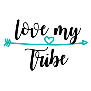 Download Silhouette Design Store - View Design #190948: love my tribe