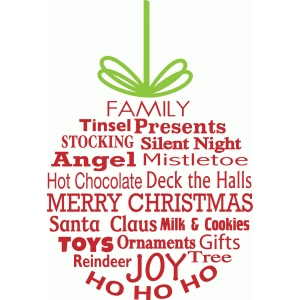 Silhouette Design Store View Design 97089 Christmas