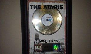 The Ataris So Long, Astoria Gold Record