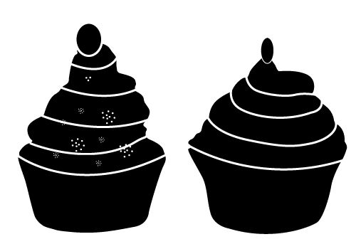 Cupcake Silhouette Free Cupcakes For You Download Now