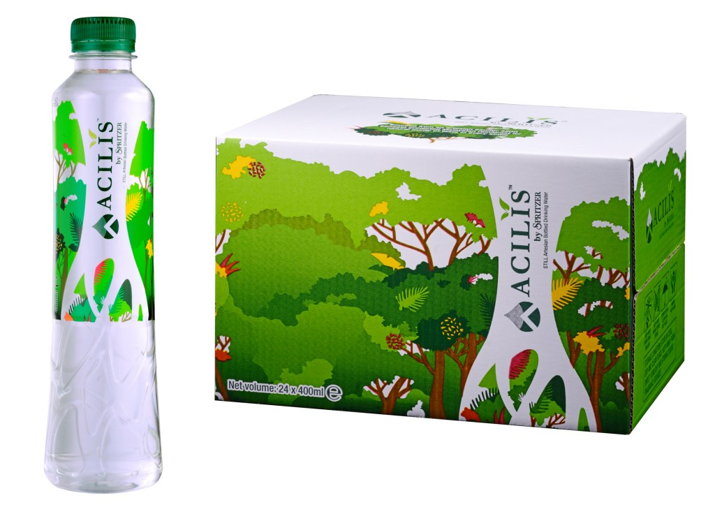 New Silica Rich Mineral Water - ACILIS by Spritzer Water