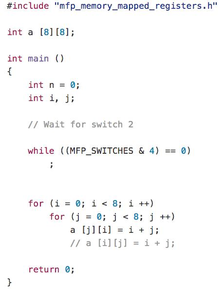 MIPSfpga+ allows loading programs via UART and has a switchable
