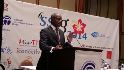 Albert Daniel, ICANN Caribbean Manager, explained the ICANN's role in Internet Governance...in plain English!
