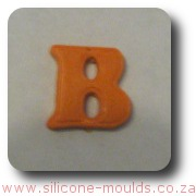 Alphabet Silicone Mould Letter B