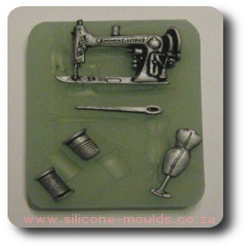 Sewing Set Silicone Mold