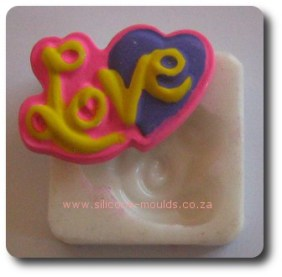 Mini Love Silicone Mold