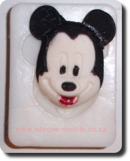 Mickey Mouse Face Silicone Moulds