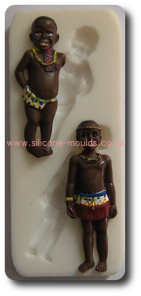 Traditional Boy And Girl-silicone mold