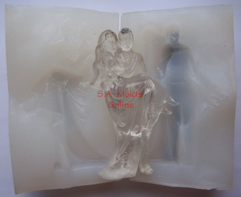 3 D Bride and Groom 2