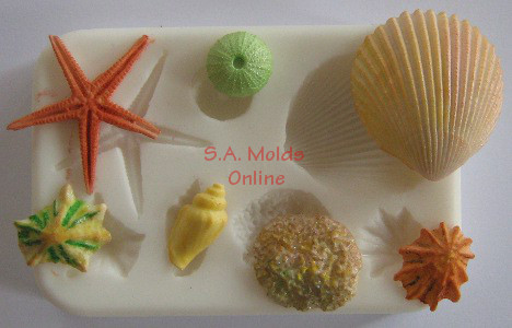 Shell and Beach Set 1