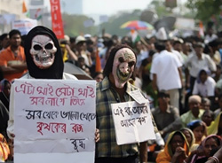protest nandigram