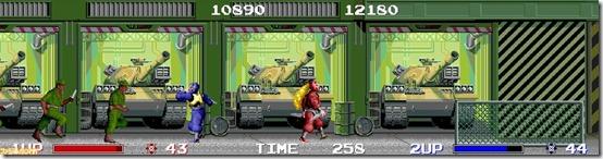 ninja warriors arcade 4