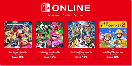 eu nintendo switch online game bundles