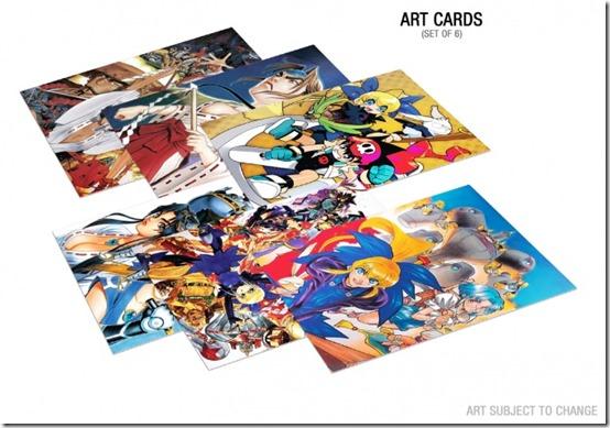 psikyo shooting stars bravo art cards