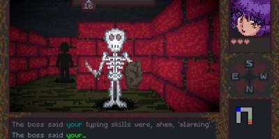 backspace bouken typing game
