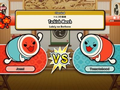 taiko no tatsujin switch online ranking 2