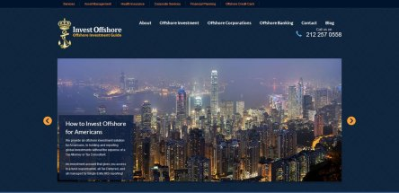 websites of Silicon Palms - Invest Offshore