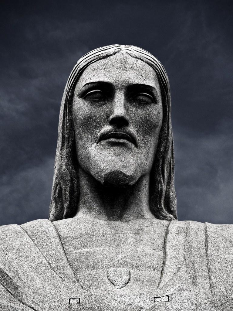 Corcovado head Rio de Janeiro, Brazil - Peace Revolution