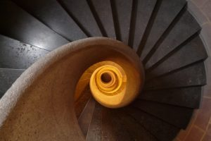 stairs-spiral-staircase-emergence-gradually