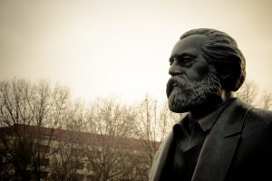 Karl Marx in Winter