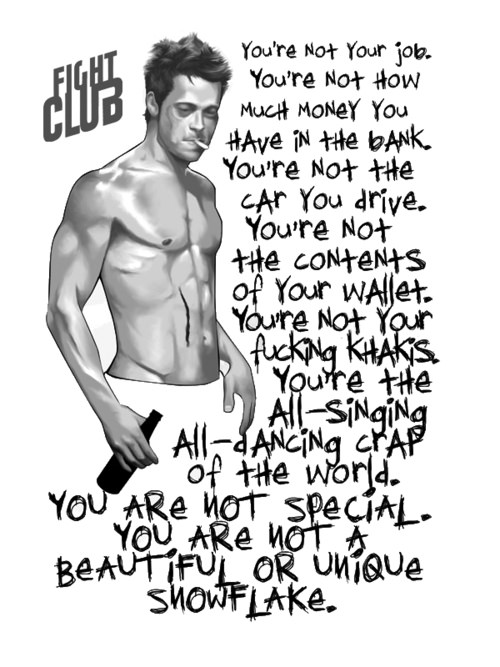 """You're not your job or the editor of ZH…"" Tyler Durden"