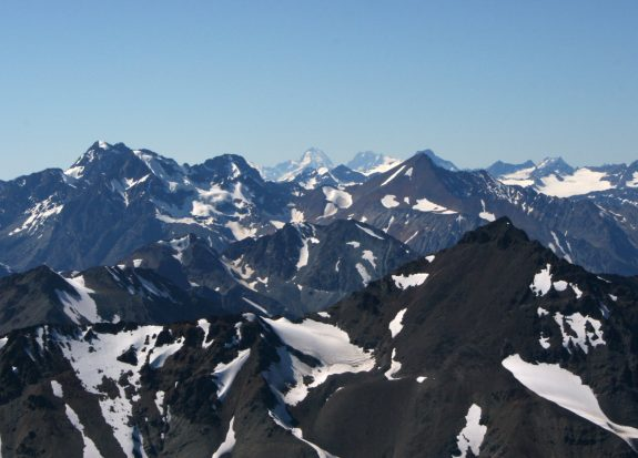 60 meters taller than Mount Robson, standing at 4019 meters, Mount Waddington is the 3rd tallest mountain in British Columbia, after Mount Fairweather and Quincy Adams peaks on the Alaskan border. The mountain also has the second highest prominence in BC, at 3289 meters. Standing at the head of the Bute and Knight Inlets, the mountain is surrounded by such rugged, remote terrain that it is rare to even be able to see the peak.Mount Waddington