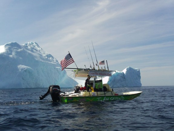 Longest Unescorted oceanic crossing in flats boat