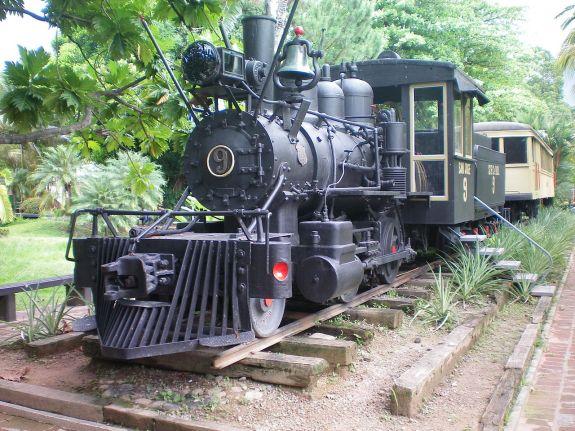 Steamtrain, Pico Bonito, La Ceiba, Honduras