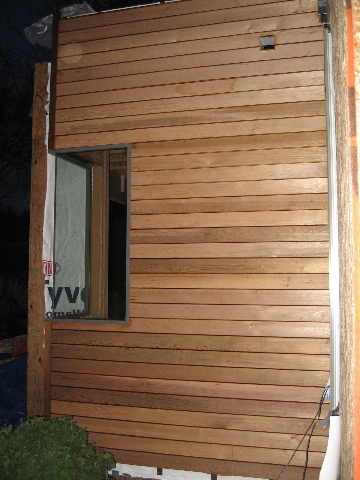 Pope Street Modern: Cedar Siding, Stucco Prep on Modern Siding  id=54576