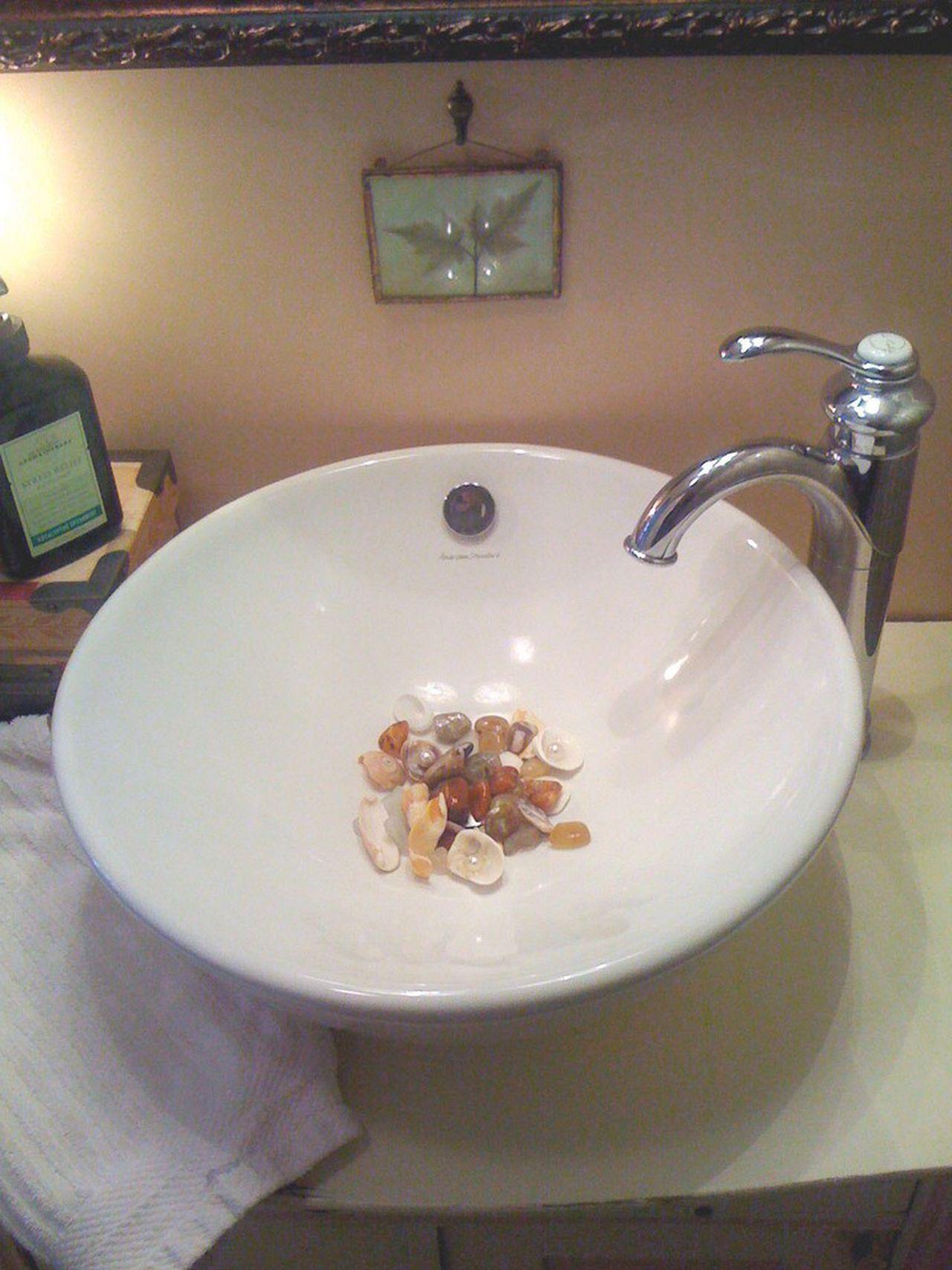 vessel sinks need no special plumbing