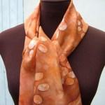 Kitten print scarf 1