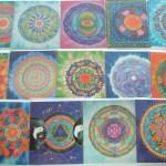 mandala greeting cards fionastolze silkandart