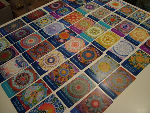 Mandala oracle cards Sea of Calm