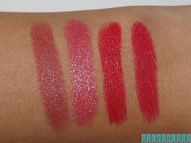 Swatches op m'n arm Treat - Chic - Lady - Dare