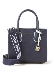 Mercer crossbodytas van leer