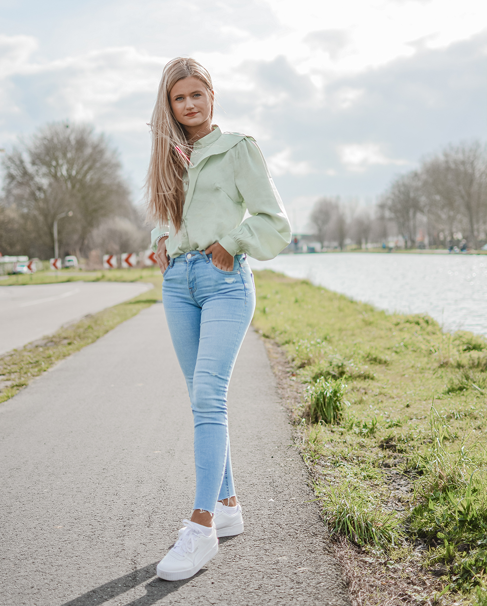 Outfit: Pastel Green