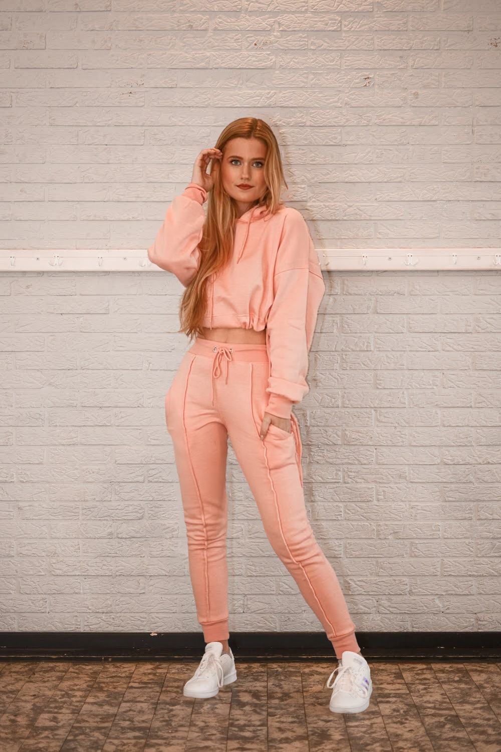 Outfit: Pink Tracksuit