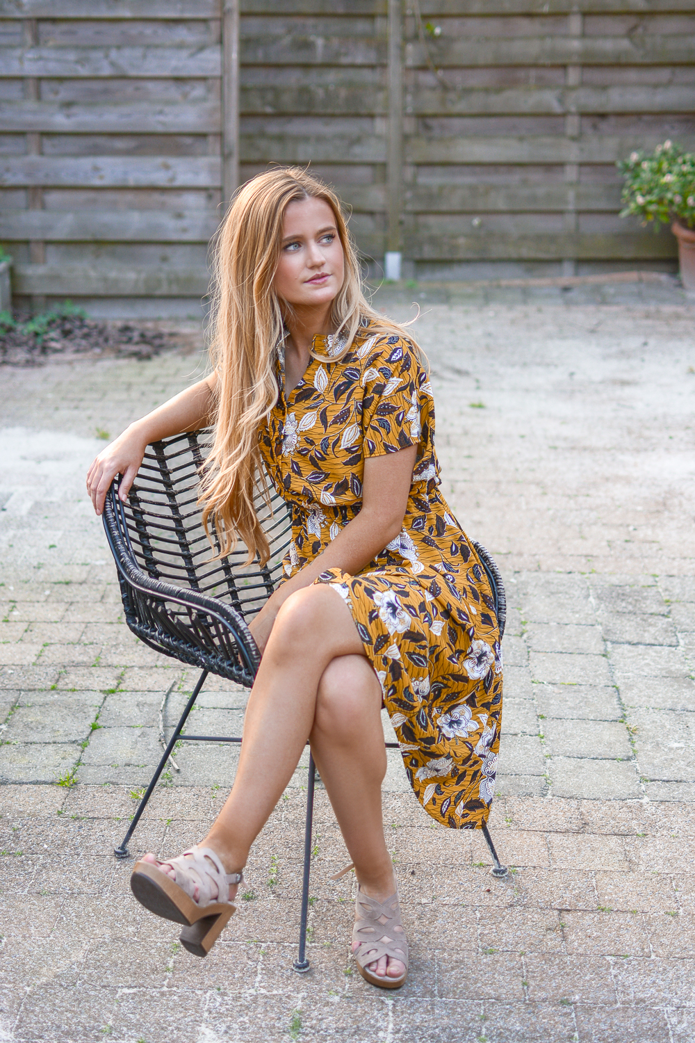 Outfit: Simpele zomerjurk