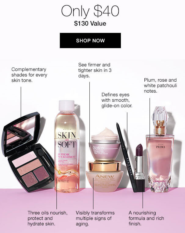Luxuries Spring Collection from Avon